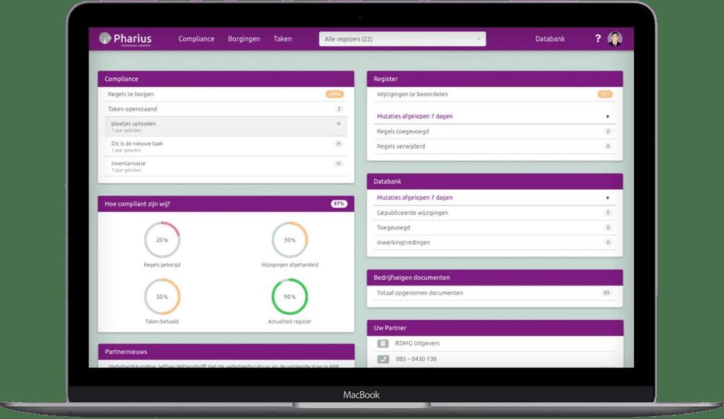 Bedrijfseigen documenten direct in uw dashboard.